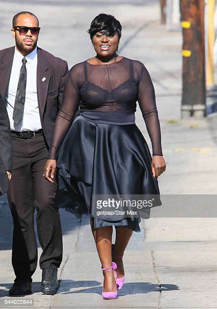 Actress Danielle Brooks is seen on June 30 2016 in Los Angeles California