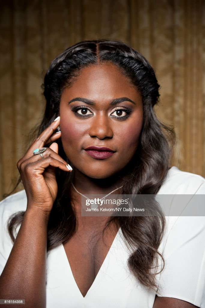 Actress Danielle Brooks photographed for NY Daily News on September 26, 2016, in New York City.