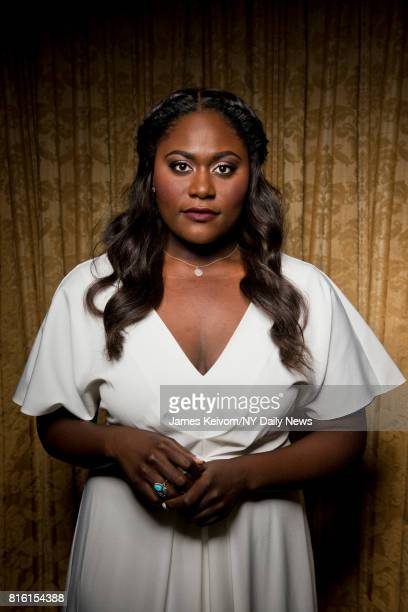 Actress Danielle Brooks photographed for NY Daily News on September 26 in New York City