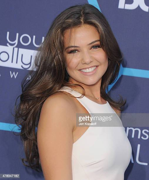 Actress Danielle Campbell arrives at the 16th Annual Young Hollywood Awards at The Wiltern on July 27, 2014 in Los Angeles, California.