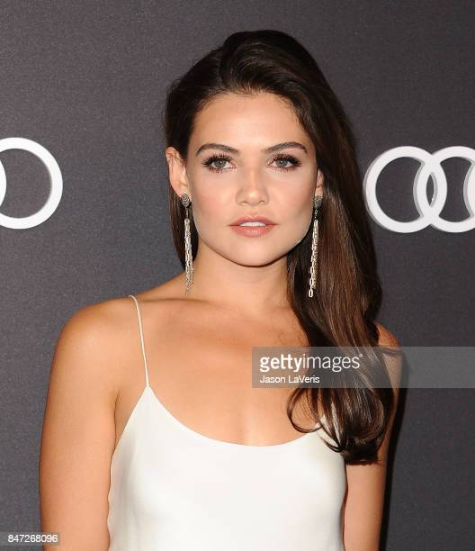 Actress Danielle Campbell attends the Audi celebration for the 69th Emmys at The Highlight Room at the Dream Hollywood on September 14 2017 in...