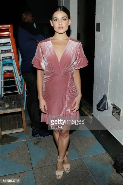 Actress Danielle Campbell attends the Flaunt and Reebok 'The Eternal Issue' celebration hosted by Future at Sixty Hotel Soho on September 8 2017 in...