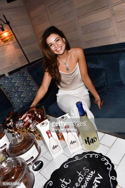 Actress Danielle Campbell attends the Popular TV party at Doheny Room on March 8 2018 in West Hollywood California