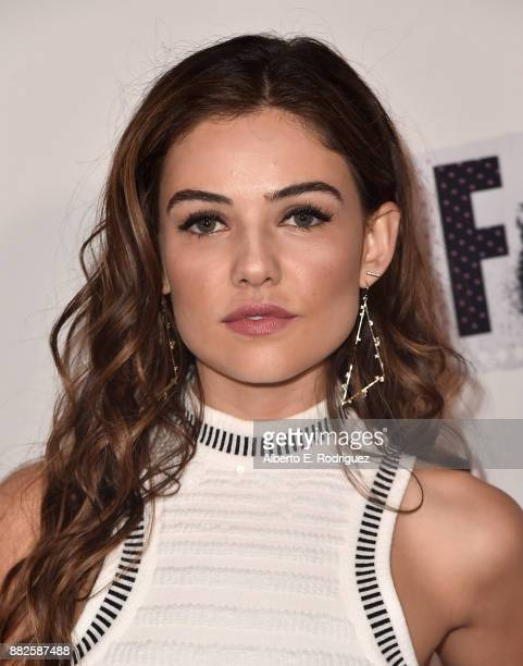 Actress Danielle Campbell attends the premiere Of Orchard And Fine Brothers Entertainment's 'F*% The Prom' at ArcLight Hollywood on November 29 2017...