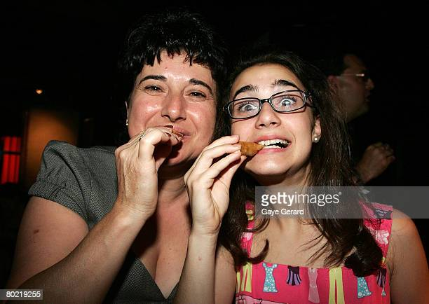 Actress Danielle Catanzariti and her mother Anna Catanzariti attend the after show party following the 2008 Movie Extra FilmInk Awards at The Argyle...