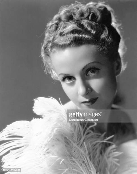 Actress Danielle Darrieux in a scene from the movie The Rage of Paris