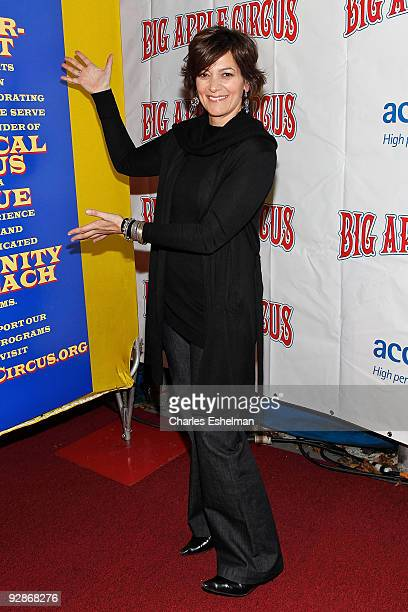Actress Danielle Di Vecchio attends the 2009 Big Apple Circus opening night gala benefit at Damrosch Park in Lincoln Center on November 6 2009 in New...