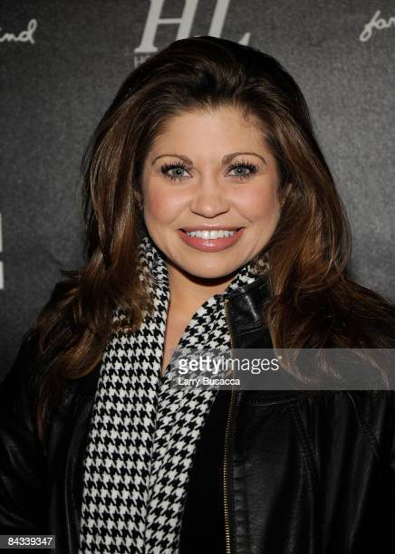 Actress Danielle Fishel attends the Gen Art Fresh Faces Event at Hollywood Life House on January 16 2009 in Park City Utah