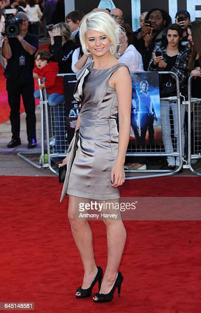 Actress Danielle Harold attends the 'Cowboys and Aliens' Premiere at the O2 Cineworld Greenwich on August 11 2011 in London