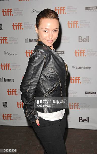 Actress Danielle Harris attends 'Stake Land' Premiere during the 35th Toronto International Film Festival at Ryerson Theatre on September 17 2010 in...