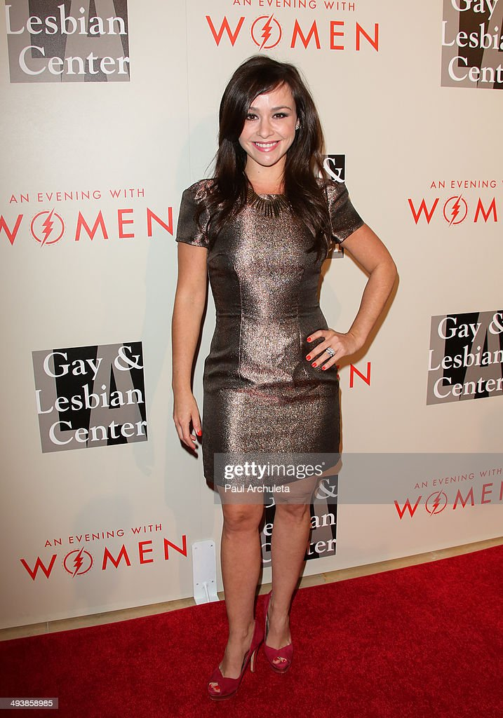 Actress Danielle Harris attends the L.A. Gay & Lesbian Center's 2014 An Evening With Women at The Beverly Hilton Hotel on May 10, 2014 in Beverly Hills, California.