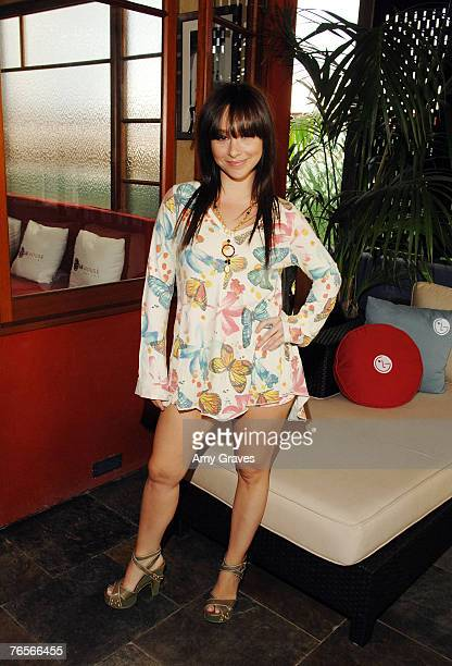 Actress Danielle Harris attends the Scanty and W Brunch at the LG House on September 6 2007 in Malibu California