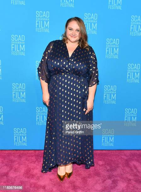Actress Danielle Macdonald attends the opening reception for the 22nd SCAD Savannah Film Festival on October 26, 2019 at Trustees Theater in...