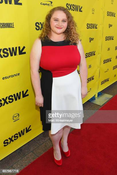 Actress Danielle Macdonald attends the 'Patti Cake$' premiere 2017 SXSW Conference and Festivals on March 13 2017 in Austin Texas