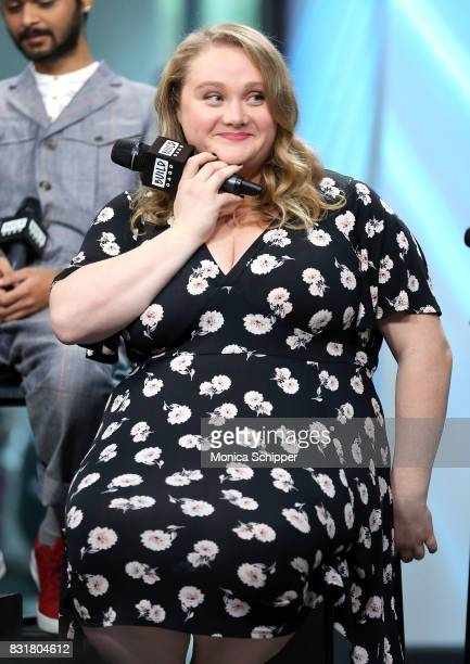Actress Danielle Macdonald visits Build Series to discuss the movie 'Patti Cake$' at Build Studio on August 15 2017 in New York City