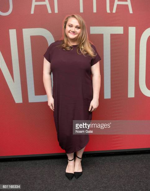Actress Danielle Macdonald visits SAGAFTRA Foundation to discuss 'Patti Cake$' at SAGAFTRA Foundation Robin Williams Center on August 13 2017 in New...