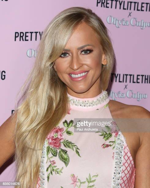 Actress Danielle Moinet attends the PrettyLittleThing X launch at Liaison Lounge on August 17 2017 in Los Angeles California