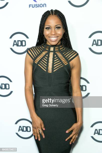 Actress Danielle Mone Truitt attends the 2nd Annual All Def Movie Awards at Belasco Theatre on February 22 2017 in Los Angeles California