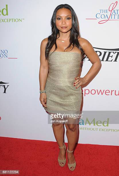 Actress Danielle Nicolet arrives at AltaMed Health Services' Power Up We Are The Future Gala at the Beverly Wilshire Four Seasons Hotel on May 12...