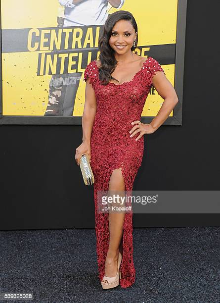 Actress Danielle Nicolet arrives at the Los Angeles Premiere Central Intelligence at Westwood Village Theatre on June 10 2016 in Westwood California