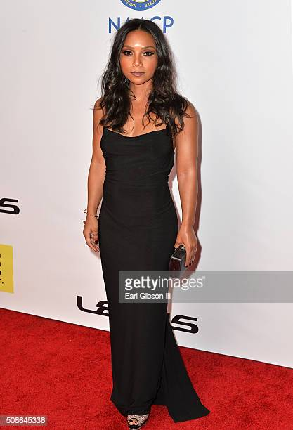 Actress Danielle Nicolet attends the 47th NAACP Image Awards presented by TV One at Pasadena Civic Auditorium on February 5 2016 in Pasadena...