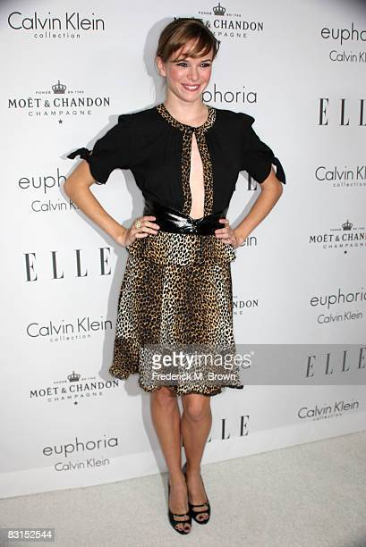 Actress Danielle Panabaker arrives at the 15th annual Women In Hollywood Tribute hosted by ELLE Magazine at the Four Seasons Hotel on October 6 2008...