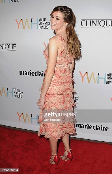 Actress Danielle Panabaker arrives at the 1st Annual Marie Claire Young Women's Honors at Marina del Rey Marriott on November 19 2016 in Marina del...