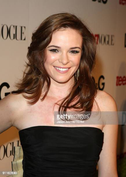 Actress Danielle Panabaker arrives at the 7th Annual Teen Vogue Young Hollywood Party held at Milk Studios on September 25 2009 in Hollywood...