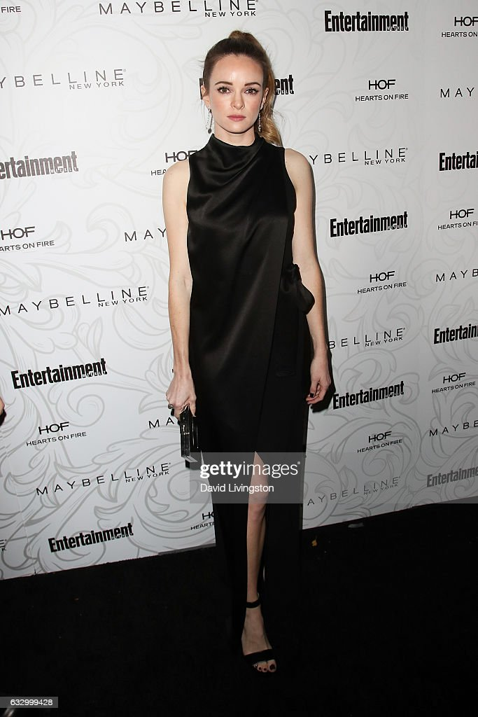 Actress Danielle Panabaker arrives at the Entertainment Weekly celebration honoring nominees for The Screen Actors Guild Awards at the Chateau Marmont on January 28, 2017 in Los Angeles, California.