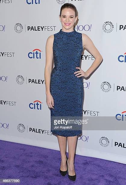 Actress Danielle Panabaker arrives at The Paley Center For Media's 32nd Annual PALEYFEST LA Arrow And The Flash at Dolby Theatre on March 14 2015 in...