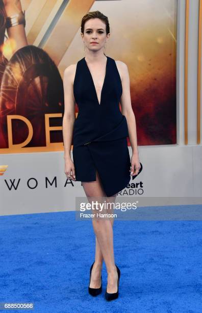 Actress Danielle Panabaker arrives at the Premiere Of Warner Bros Pictures' Wonder Woman at the Pantages Theatre on May 25 2017 in Hollywood...