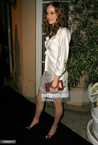 Actress Danielle Panabaker arrives to ELLE Magazine's 14th Annual Women In Hollywood at the four seasons hotel on October 15 2007 in Beverly Hills...