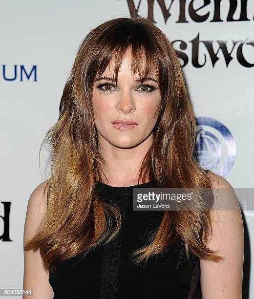 Actress Danielle Panabaker attends Art of Elysium's 9th annual Heaven Gala at 3LABS on January 9 2016 in Culver City California
