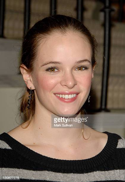 Actress Danielle Panabaker attends Fresh Cosmetics Sweet 16 birthday party held in Beverly Hills California on September 4 2007