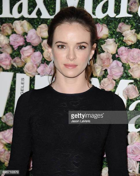 Actress Danielle Panabaker attends Max Mara and Vanity Fair's celebration of Women In Film's Face of the Future Award recipient Zoey Deutch at...
