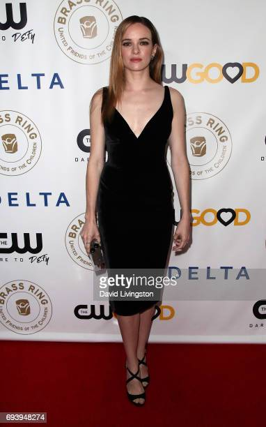 Actress Danielle Panabaker attends the 14th Annual Brass Ring Awards Dinner at The Beverly Hilton Hotel on June 8 2017 in Beverly Hills California