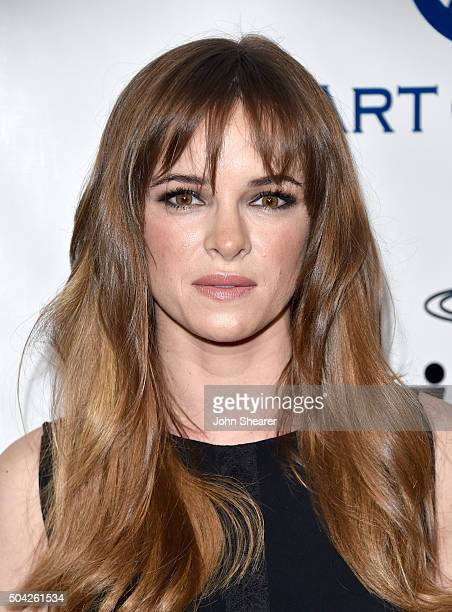 Actress Danielle Panabaker attends The Art of Elysium 2016 HEAVEN Gala presented by Vivienne Westwood Andreas Kronthaler at 3LABS on January 9 2016...