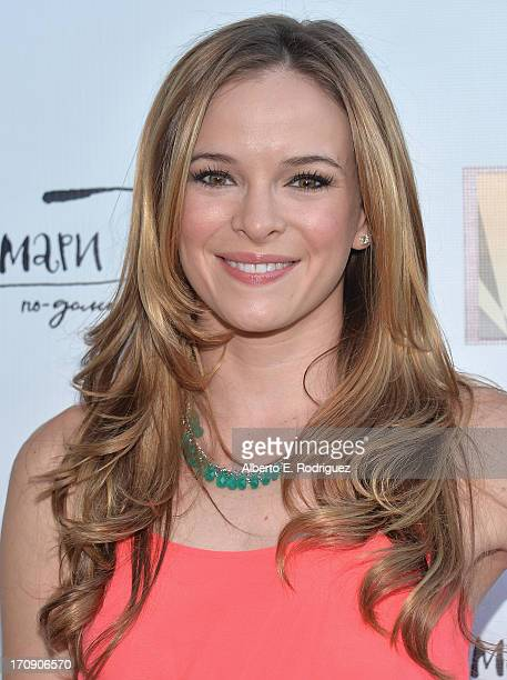 Actress Danielle Panabaker attends The Creative Coalition's 2013 Summer Soiree at Mari Vanna Los Angeles on June 19 2013 in West Hollywood California