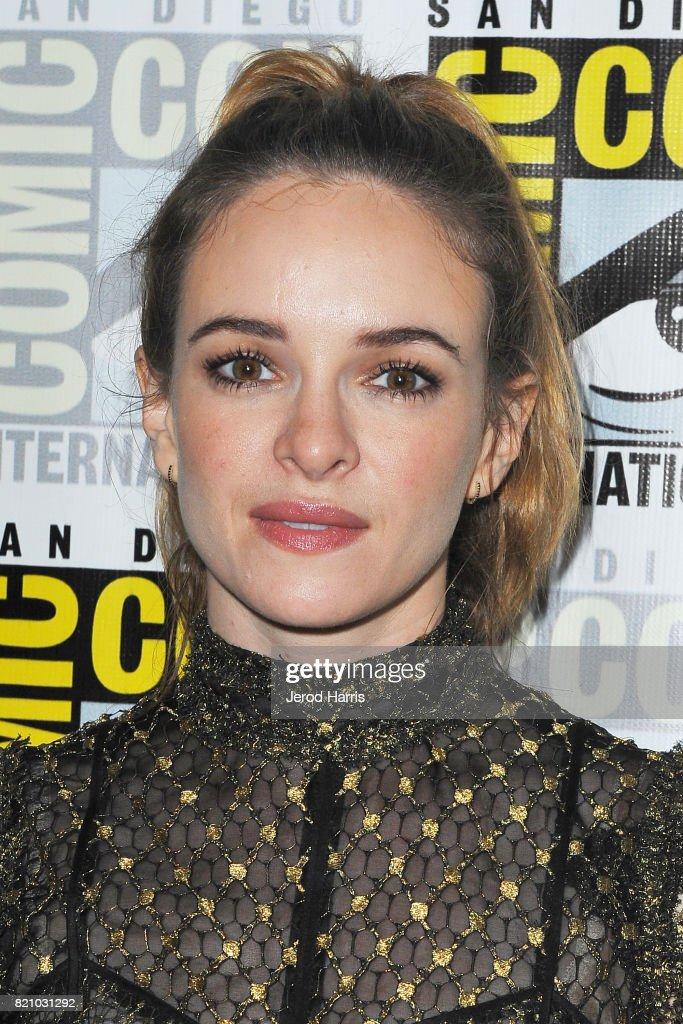 Actress Danielle Panabaker attends 'The Flash' press line at Comic Con 2017 - Day 3 on July 22, 2017 in San Diego, California.