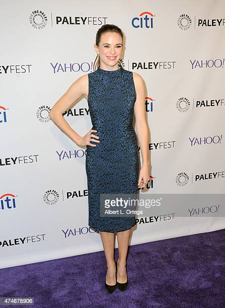 Actress Danielle Panabaker participates in The Paley Center For Media's 32nd Annual PALEYFEST LA featuring The CW's Arrow The Flash held at The Dolby...