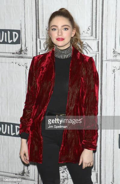 Actress Danielle Rose Russell attends the Build Series to discuss Legacies at Build Studio on November 19 2018 in New York City