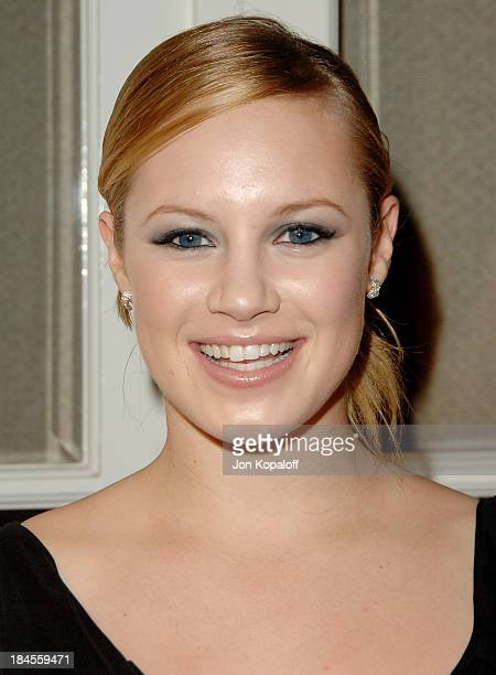 Actress Danielle Savre arrives at the '14th Annual Women In Hollywood' at the Four Seasons Hotel on October 15 2007 in Beverly Hills California