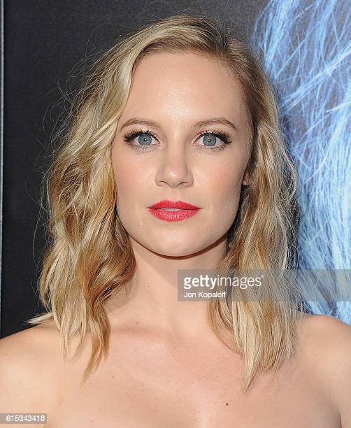Actress Danielle Savre arrives at the Los Angeles Premiere Boo A Madea Halloween at ArcLight Cinemas Cinerama Dome on October 17 2016 in Hollywood...
