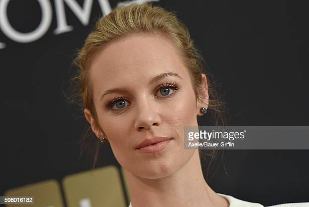 Actress Danielle Savre arrives at the screening of 'Too Close to Home' at The Paley Center for Media on August 16 2016 in Beverly Hills California