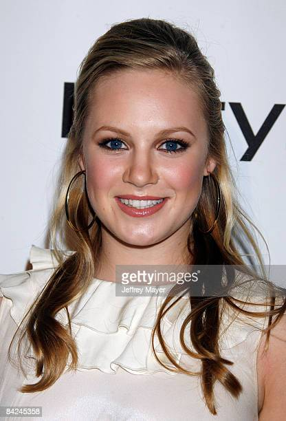 Actress Danielle Savre arrives to the In Style CFDA Event at Morton's Restaurant on October 16 2007 in West Hollywood California