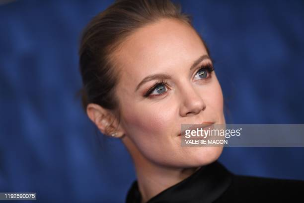 US actress Danielle Savre attends ABC's Winter TCA 2020 Press Tour in Pasadena California on January 8 2020