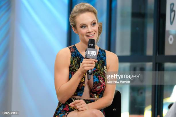 Actress Danielle Savre attends Build Series Presents Danielle Savre discussing 'Too Close to Home' at Build Studio on March 22 2017 in New York City