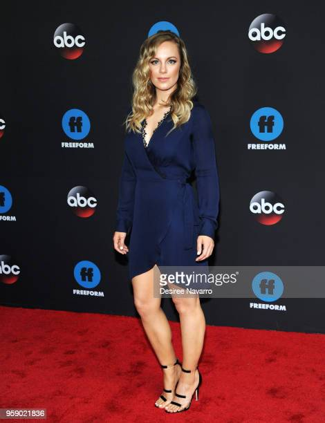 Actress Danielle Savre attends the 2018 Disney ABC Freeform Upfront on May 15 2018 in New York City