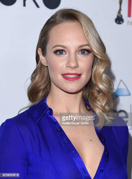 Actress Danielle Savre attends the 4th Hollywood Beauty Awards at Avalon Hollywood on February 25 2018 in Los Angeles California