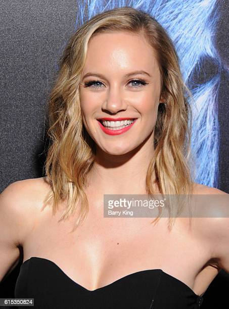 Actress Danielle Savre attends the premiere of Lionsgate's' 'Boo A Madea Halloween' at ArcLight Cinemas Cinerama Dome on October 17 2016 in Hollywood...